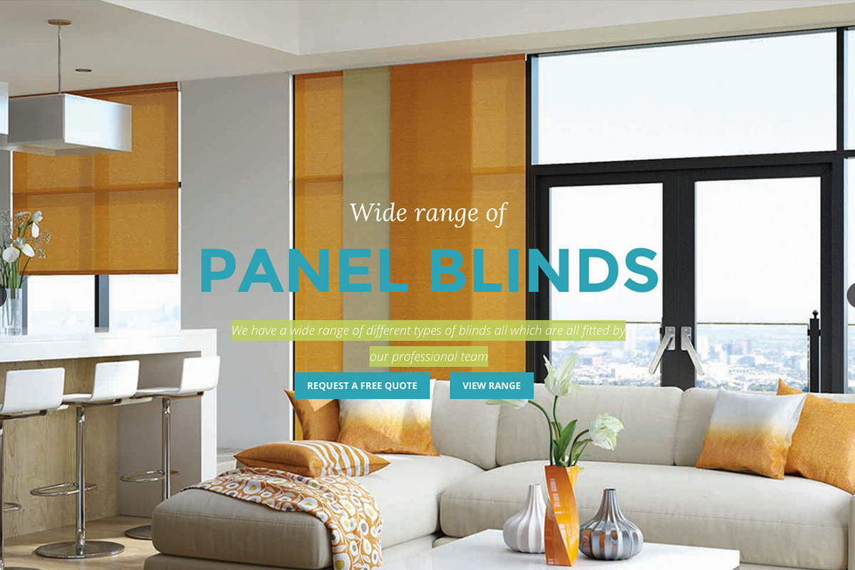 Drapes and Blinds Website Design Portfolio