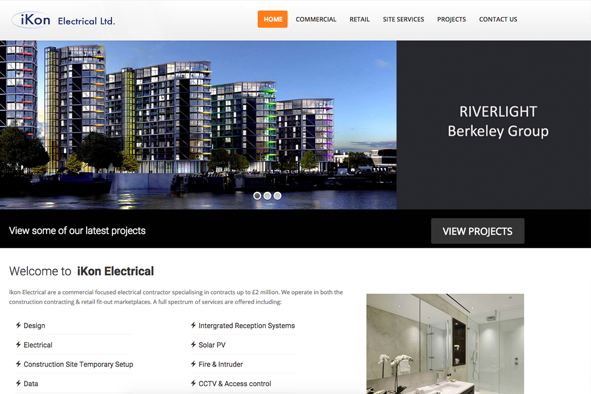 Ikon Electrical Website