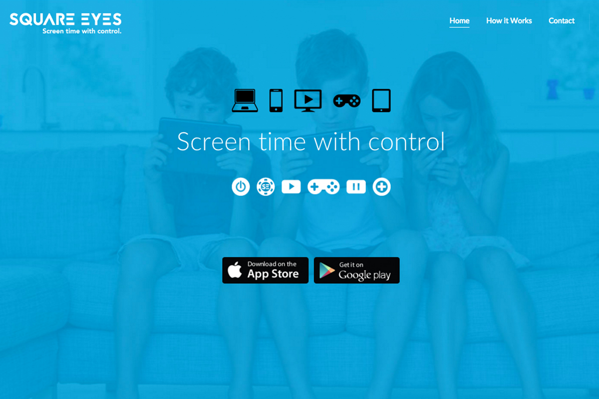 Square Eyes App Website