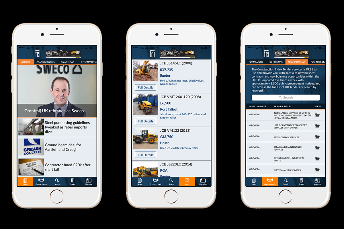 The Construction Index App